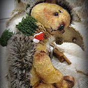 Куклы и игрушки ручной работы. Ярмарка Мастеров - ручная работа Кволь... Ёжик-тедди.... Handmade.