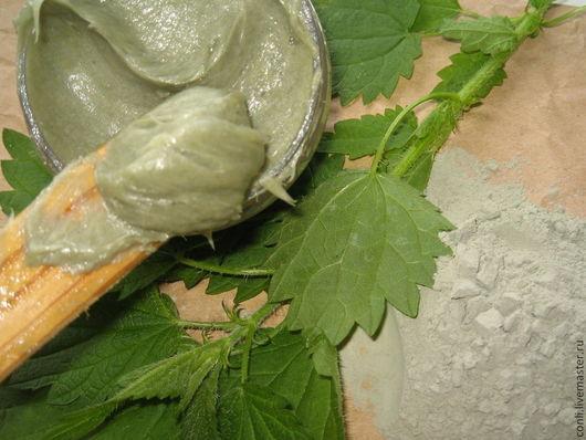 """Мыло ручной работы. Ярмарка Мастеров - ручная работа. Купить Мягкое мыло """"Зеленая глина, Кедр и Розмарин"""" для жирной кожи. Handmade."""