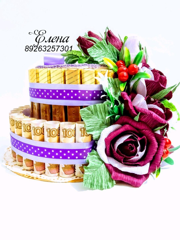 Торт из конфет!!!, Цветы, Москва,  Фото №1