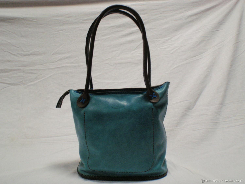a47c8a14322c Женские сумки ручной работы. Ярмарка Мастеров - ручная работа. Купить  Женская кожаная сумка ручной ...