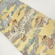 Винтаж handmade. Livemaster - original item Fukuro OBI brocade belt