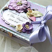 """Открытки ручной работы. Ярмарка Мастеров - ручная работа Коробочка для денег """"Lilac"""". Handmade."""