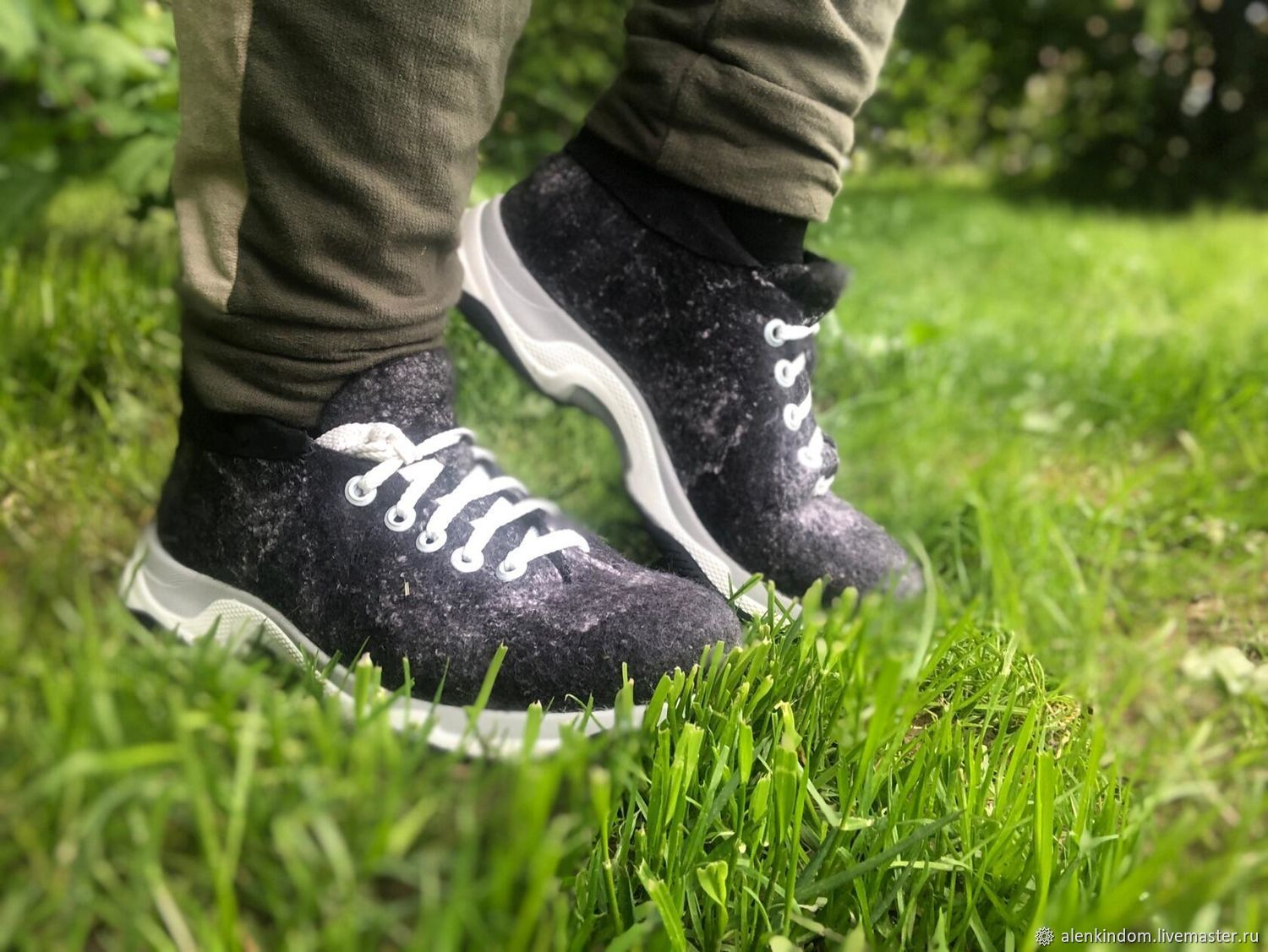 Felted unisex, Sneakers, Moscow,  Фото №1