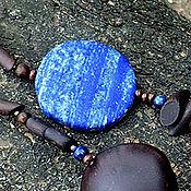 Украшения ручной работы. Ярмарка Мастеров - ручная работа Ожерелье Гляжу в озёра синие. Handmade.