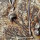 """Картины цветов ручной работы. Ярмарка Мастеров - ручная работа. Купить Панно"""" Воспоминание о лете"""". Handmade. Коричневый, камень, воск"""