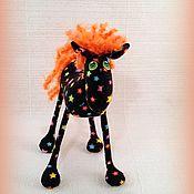 Куклы и игрушки ручной работы. Ярмарка Мастеров - ручная работа Маленькая лошадка , рыжий жеребёнок )). Handmade.