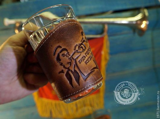 Goblets & Glasses handmade. Livemaster - handmade. Buy Cup holder - BE READY.Brown, for tea