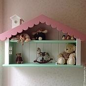 Для дома и интерьера handmade. Livemaster - original item 2.  Shelf - cabin. Handmade.