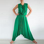 Одежда handmade. Livemaster - original item Convertible jumpsuit rompers womens Jumpsuit boho style. Handmade.