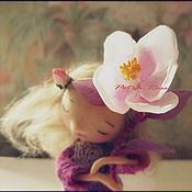 """Куклы и игрушки ручной работы. Ярмарка Мастеров - ручная работа """"Мой любимый цветочек расцвел!.."""". Handmade."""