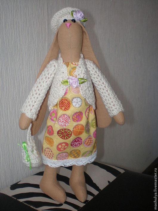 Куклы Тильды ручной работы. Ярмарка Мастеров - ручная работа. Купить Зайка тильда. Handmade. Зайка, зайка девочка