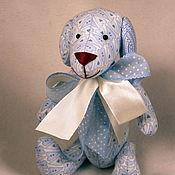 Голубой щенок - собачка Тильда