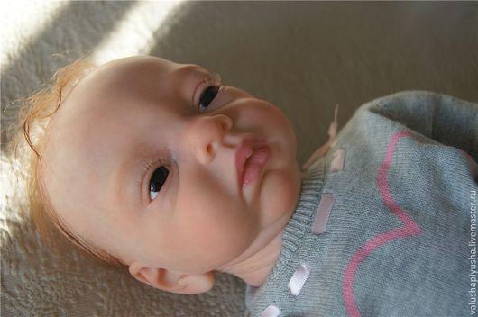 Куклы-младенцы и reborn ручной работы. Ярмарка Мастеров - ручная работа. Купить Кукла реборн Кира.. Handmade. Бежевый, винил