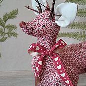 Куклы и игрушки handmade. Livemaster - original item Tilda Animals: Deer Tilde. Handmade.