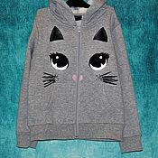 Работы для детей, handmade. Livemaster - original item Children`s sweatshirt