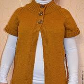Одежда handmade. Livemaster - original item Knitted cardigan for girls. Handmade.