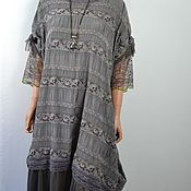 Одежда handmade. Livemaster - original item Dress loose-fitting boho style
