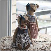 Куклы и игрушки ручной работы. Ярмарка Мастеров - ручная работа Даша и Глаша. Handmade.