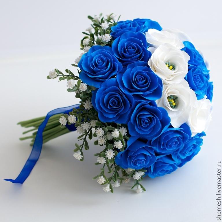 Как сделать цветы синими фото 742