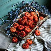 Сувениры и подарки handmade. Livemaster - original item Scented candles-pumpkin. Handmade.