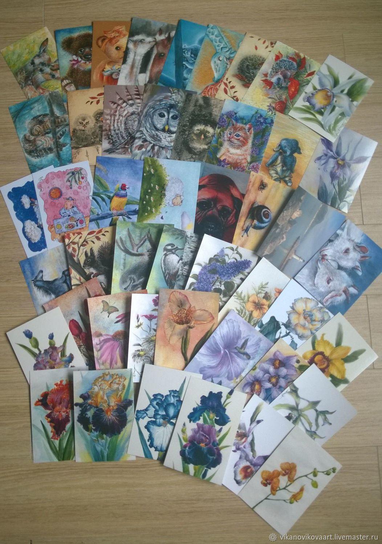 Набор открыток почтовых