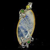Украшения handmade. Livemaster - original item Silver pendant with moonstone.. Handmade.