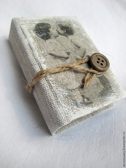 Блокноты ручной работы. Ярмарка Мастеров - ручная работа. Купить Мини-блокнот в стиле прованс. Handmade. Мини-блокнот, прованс