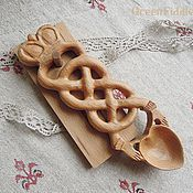 Посуда ручной работы. Ярмарка Мастеров - ручная работа Ложка любви, резная из бука. Handmade.