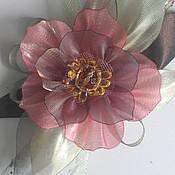 Украшения handmade. Livemaster - original item Brooch-flower coral. Handmade.