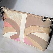 Сумки и аксессуары handmade. Livemaster - original item Bag leather beige