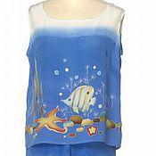 """Одежда ручной работы. Ярмарка Мастеров - ручная работа Костюм """"Море"""". Handmade."""