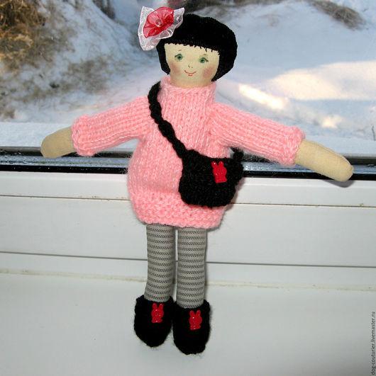 Человечки ручной работы. Ярмарка Мастеров - ручная работа. Купить Софи, примитивная кукла. Handmade. Комбинированный, примитивная кукла, холофайбер