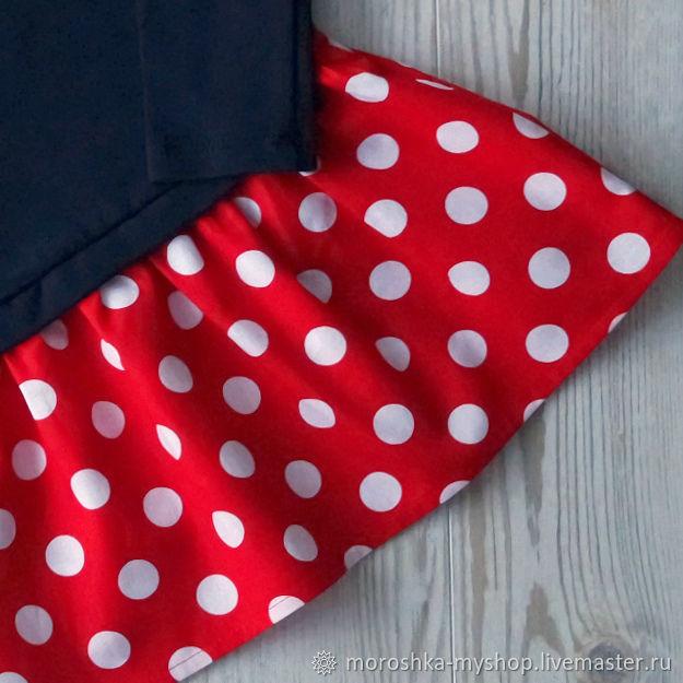 Платье для девочки трикотажное