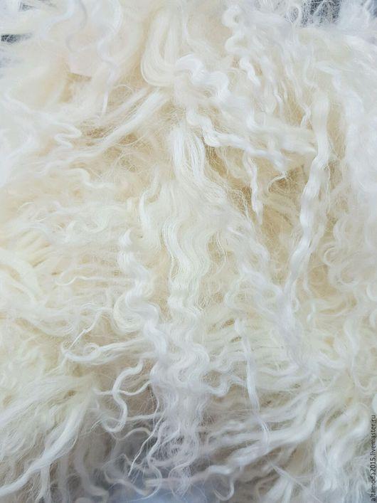 Шитье ручной работы. Ярмарка Мастеров - ручная работа. Купить Тесьма из меха ламы натуральная. Handmade. Бежевый, ткани для одежды
