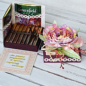 Подарки к праздникам handmade. Livemaster - original item Box - Gift