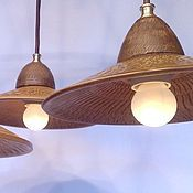 Для дома и интерьера handmade. Livemaster - original item Ceramic chandelier with three shades.