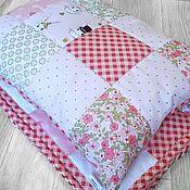 Комплекты одежды ручной работы. Ярмарка Мастеров - ручная работа Одеяло и подушечка. Handmade.