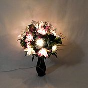 Для дома и интерьера handmade. Livemaster - original item Bouquet lamp