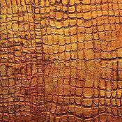 Дизайн и реклама ручной работы. Ярмарка Мастеров - ручная работа Штукатурка с имитацией кожи крокодила Санкт-Петербург для стен, мебели. Handmade.