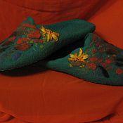"""Обувь ручной работы. Ярмарка Мастеров - ручная работа Тапочки """"Морские камушки"""". Handmade."""