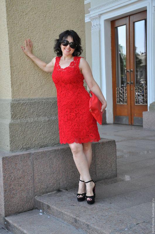 """Платья ручной работы. Ярмарка Мастеров - ручная работа. Купить Платье """"Страсть"""". Handmade. Ирландское кружево, кружево ручной работы"""