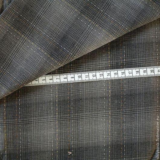 Шитье ручной работы. Ярмарка Мастеров - ручная работа. Купить Японский фактурный хлопок.. Handmade. Темно-серый, ткань, ткани