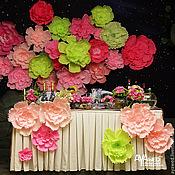 """Свадебный салон ручной работы. Ярмарка Мастеров - ручная работа Свадебный декор """"Розовый и салатовый"""". Handmade."""