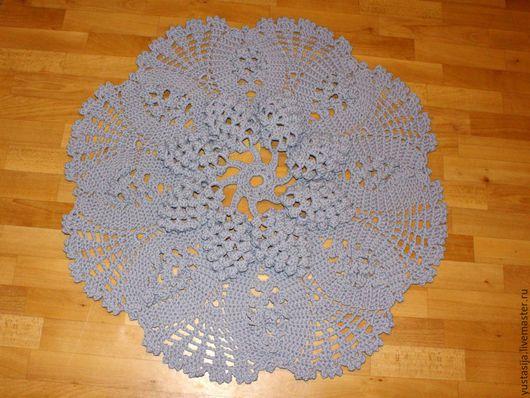 Текстиль, ковры ручной работы. Ярмарка Мастеров - ручная работа. Купить Коврик №3. Handmade. Серый, подарок женщине