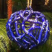 Сувениры и подарки handmade. Livemaster - original item Bell - Christmas ball Blue. Handmade.