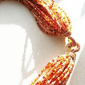 Украшения ручной работы. Ярмарка Мастеров - ручная работа Sicilian oranges. Handmade.