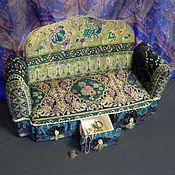 Для дома и интерьера ручной работы. Ярмарка Мастеров - ручная работа Шкатулка Мой изумрудный...диван. Handmade.