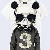"Одежда ручной работы. Ярмарка Мастеров - ручная работа Мужская футболка ""Плохая панда"". Handmade."