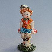 Для дома и интерьера handmade. Livemaster - original item Fairy forest elf. Figurine Porcelain.. Handmade.