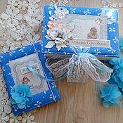 Подарок новорожденному ручной работы. Ярмарка Мастеров - ручная работа Мамины сокровища + бебибук. Handmade.